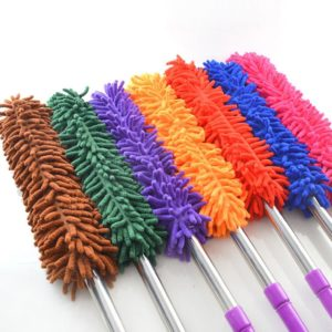 ADJUSTABLE MICROFIBER DUSTER
