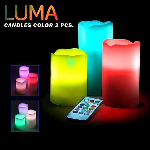 FLAMELESS & COLOR CHANGING CANDLES
