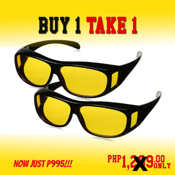 Night Vision Glasses (Buy 1 Take 1) HOT SALE!!!