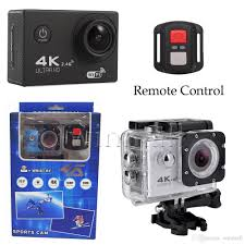 4K WiFi Action Camera With Remote Controller