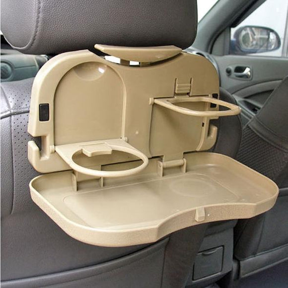 Folding Car Tray and Cup Holder