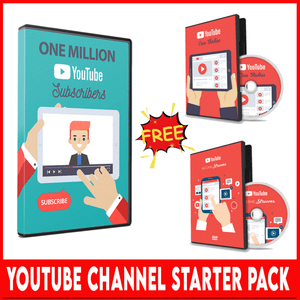 YOUTUBE CHANNEL STARTER PACKAGE