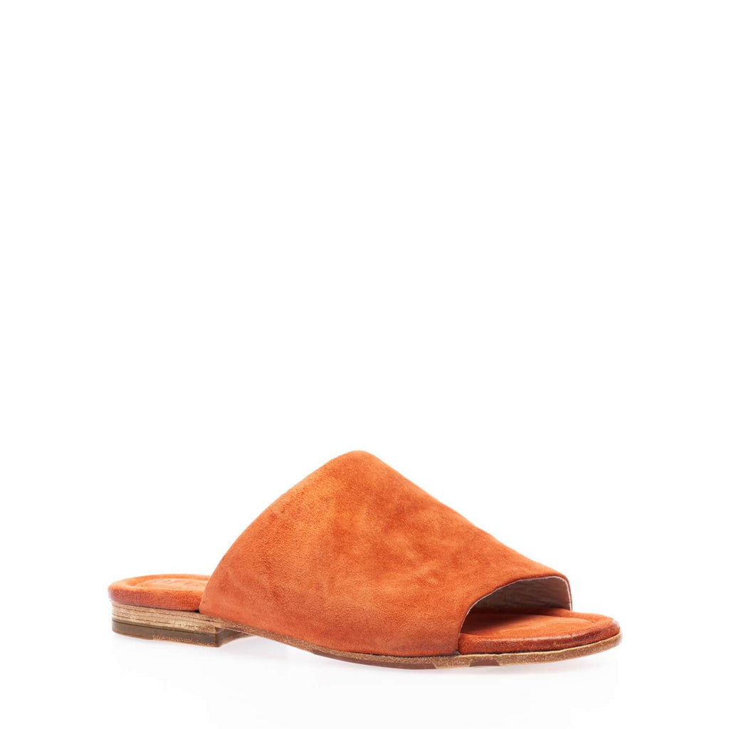 Sienna reversed calfskin slip-on sandal