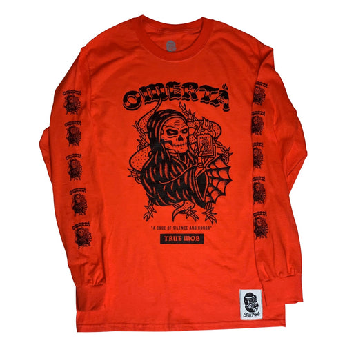 OMERTÀ HALLOWEEN L/S ORANGE