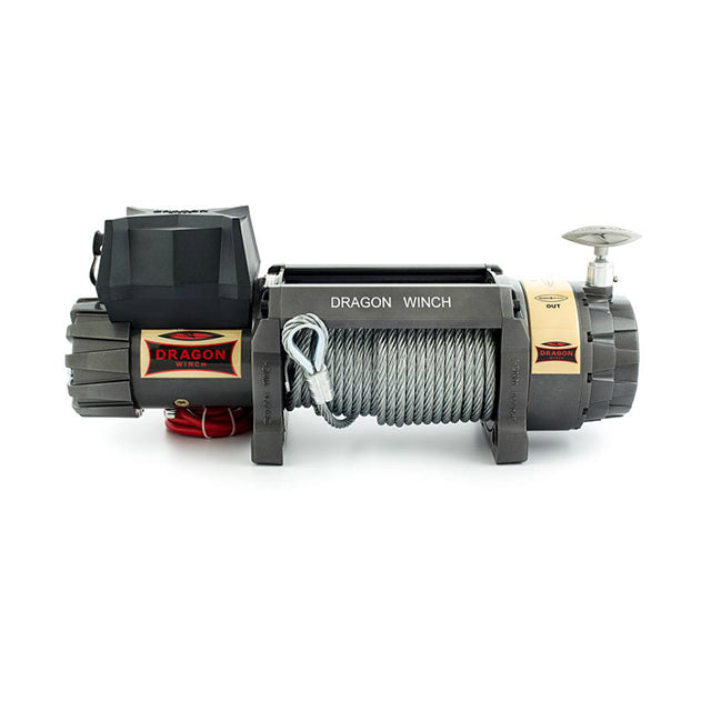 G21-001-002WR Defender Winch - Highlander Series 12000HD with Wire Rope