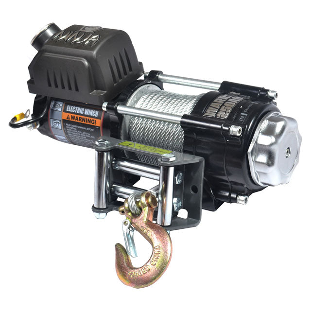 G21-001-003WR Warrior Winch 2000lb 12v Ninja