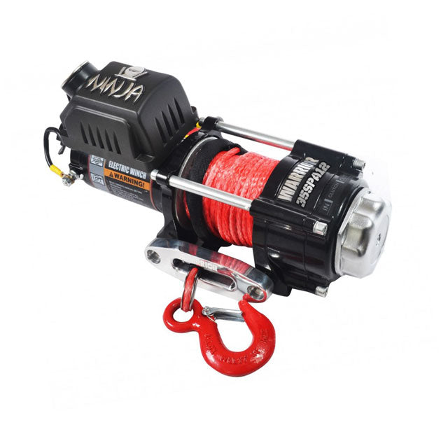 Warrior Winch 3500lb 12 Sythetic G21-001-005SR