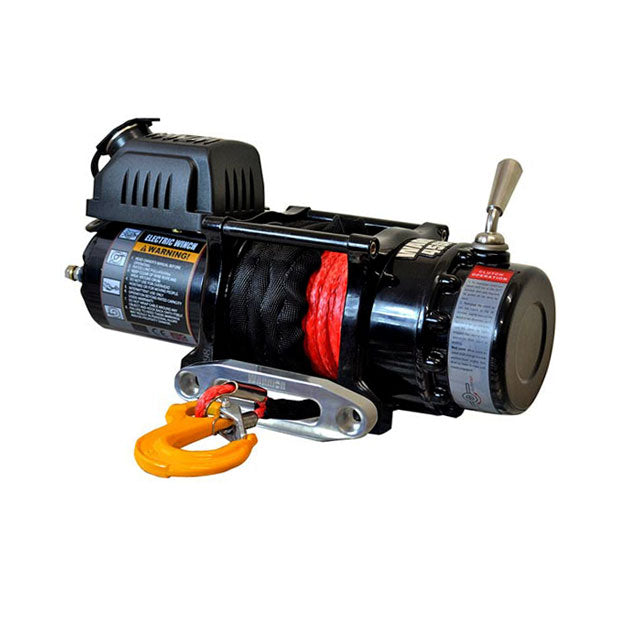 G21-001-006SR Warrior Winch 4500lb 12v Synthetic