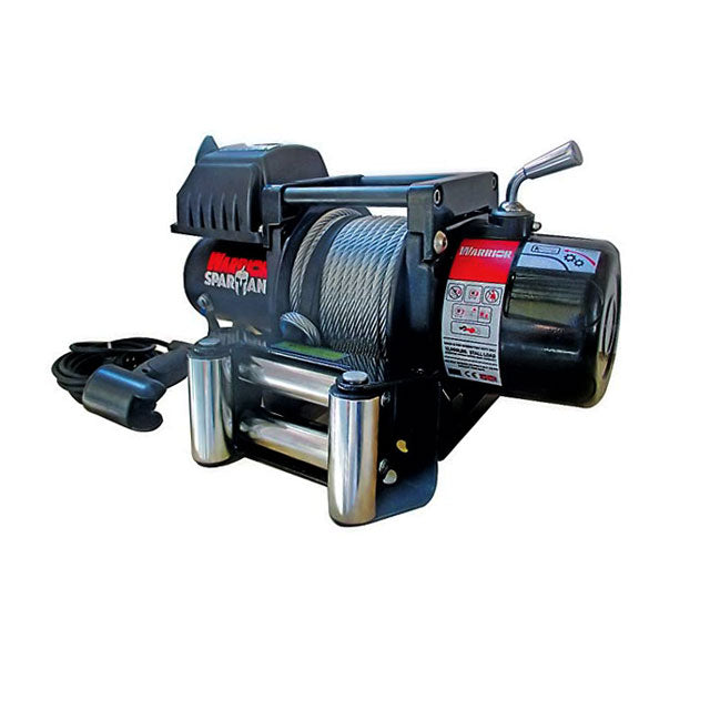 G21-001-007WR Warrior Winch 6000lb 12v Spartan