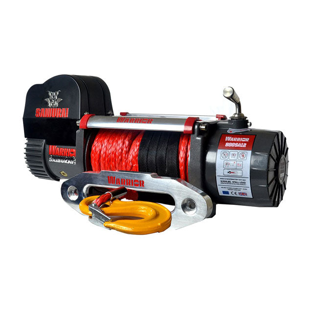 G21-001-008SR Warrior Winch 8000lb 12v Synthetic