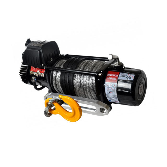 G21-001-016SR Warrior Winch 12000lb 12v Synthetic Rope