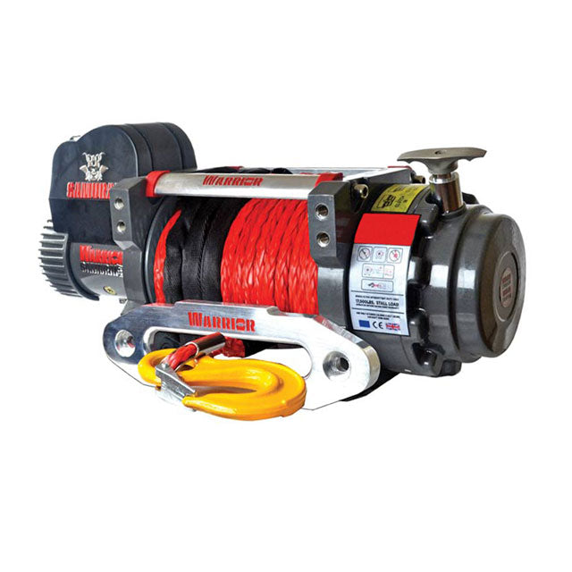 G21-001-018SR Warrior Winch 20000lb 12v Synthetic Rope
