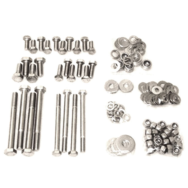 G24-001-011 Stainless Steel Chassis Bolt Kit - Defender 90