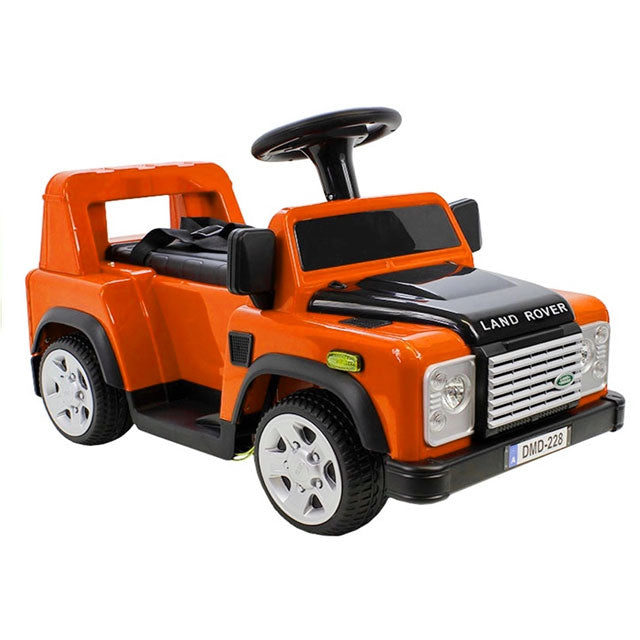 GBR-DA1518 Land Rover Defender 6v Electric Ride-on car - Orange