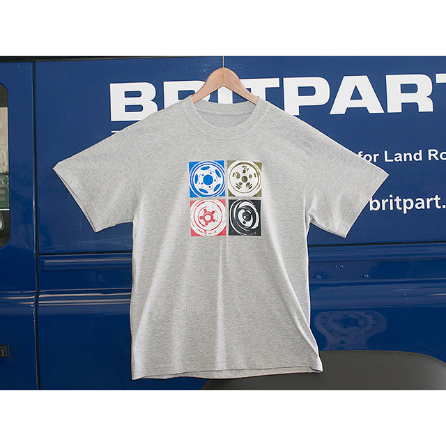 GBR-DA8064  WHEELS T-SHIRT - XL