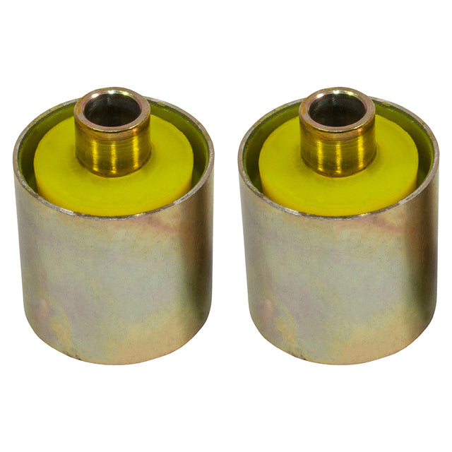GBR-RBX101730YELLOW  Poly Bush Kit - Front and Rear Radius Arm to Chassis Bush Set - Discovery 2