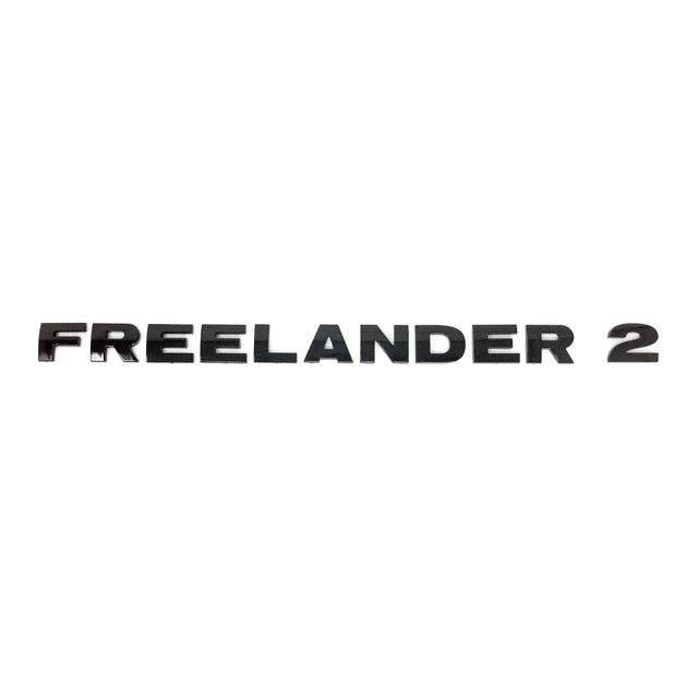 Land Rover Freelander 2 Decal - F R E E L A N D E R  2 - Gloss Black GGR-00006