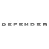 GGR-00018 Defender Decal - D E F E N D E R - Brunel Grey