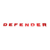 Land Rover Defender Decal - D E F E N D E R - Gloss Red GGR-00020