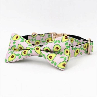 Avocado Bow-Tie Collar & Leash Set for dogs, dog clothes, dogs clothes, dog clothing, small dog clothes, dogs clothing, dog clothes female, dogs clothes boy, Dogs Clothes For Small To Medium Dog, Free Sunday, BowWow Shop - Top Dog Outfits Store