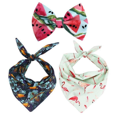 Bondi Bow-Tie & Bandana Set for dogs, dog clothes, dogs clothes, dog clothing, small dog clothes, dogs clothing, dog clothes female, dogs clothes boy, Dogs Clothes For Small To Medium Dog, Free Sunday, BowWow Shop - Top Dog Outfits Store