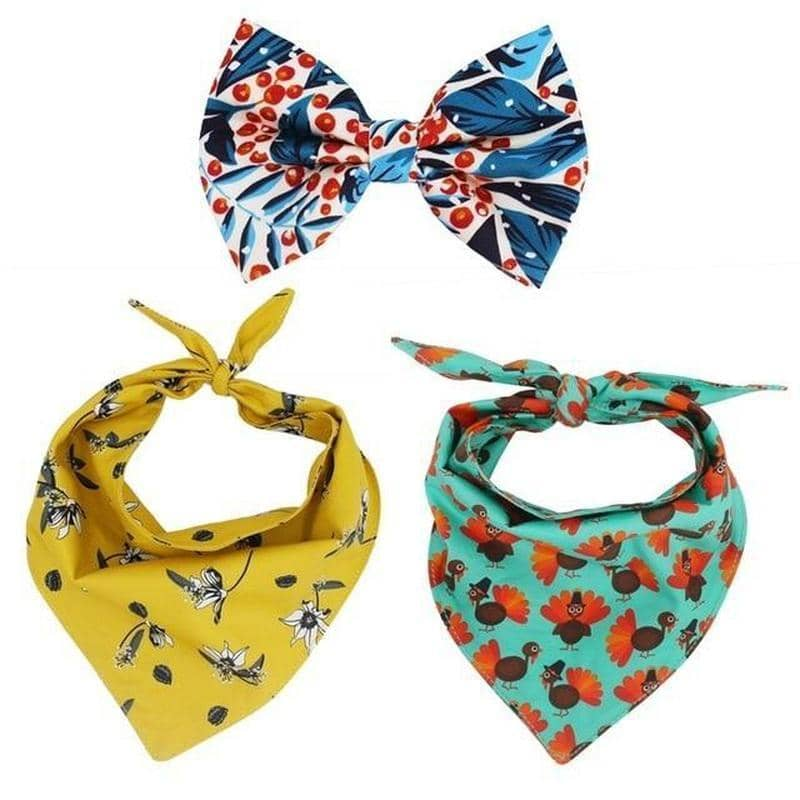 Bush Bandana & Bow-Tie Set for dogs, dog clothes, dogs clothes, dog clothing, small dog clothes, dogs clothing, dog clothes female, dogs clothes boy, Dogs Clothes For Small To Medium Dog, Free Sunday, BowWow Shop - Top Dog Outfits Store