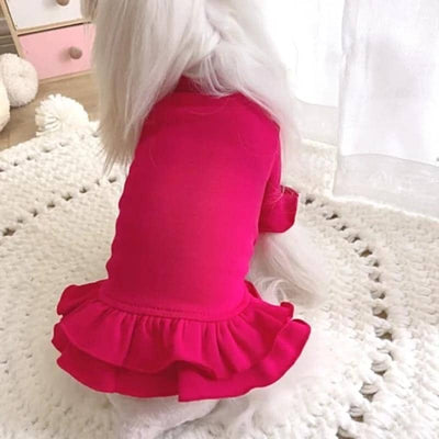 Candy Pink Dress for dogs, dog clothes, dogs clothes, dog clothing, small dog clothes, dogs clothing, dog clothes female, dogs clothes boy, Dogs Clothes For Small To Medium Dog, Gagyive, BowWow Shop - Top Dog Outfits Store