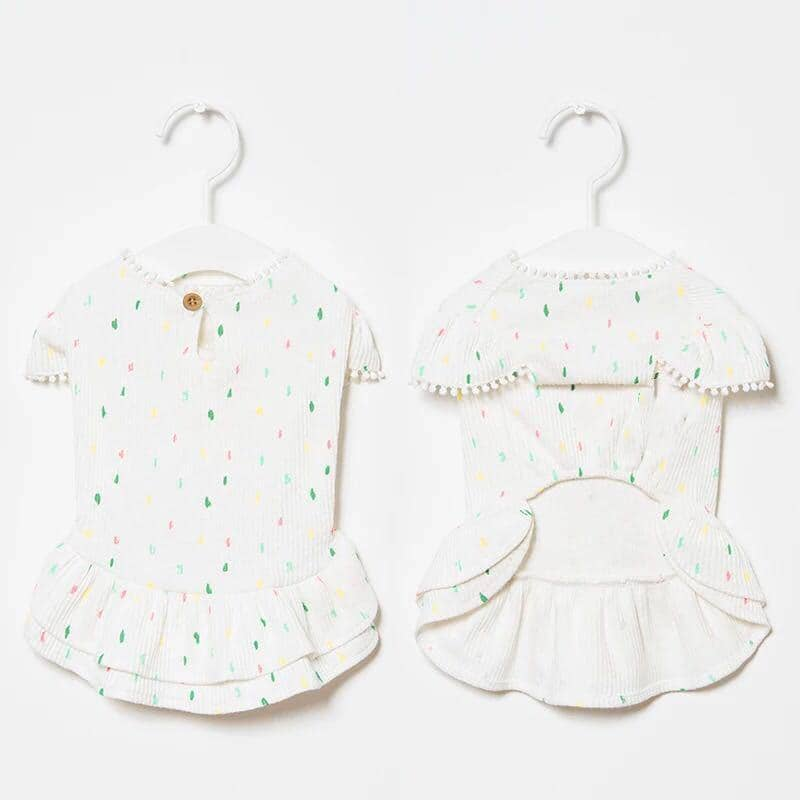 Dog Candy Sprinkles Frock | Small to Medium Dog Fashion Clothing | BowWow shop Online