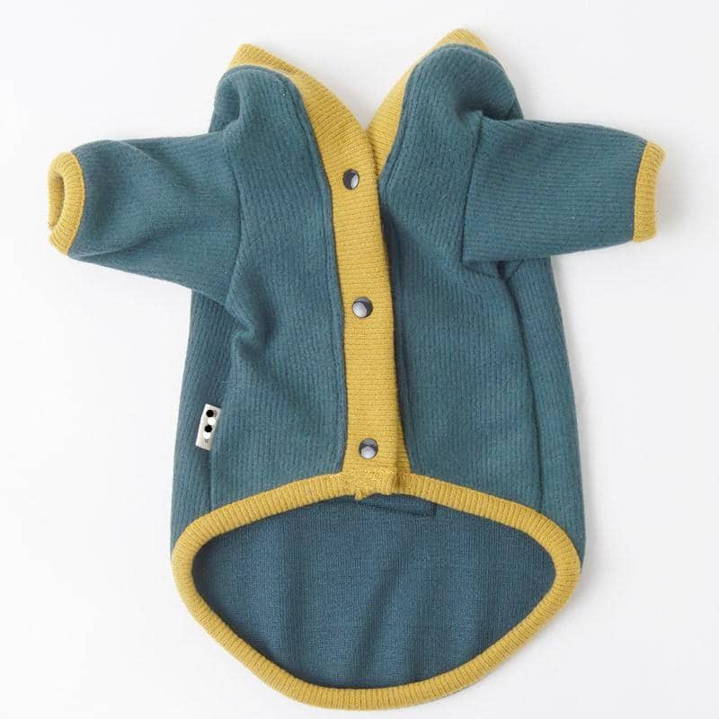 Dog Cardigan Sweater | Small to Medium Dog Fashion Clothing | BowWow shop Online