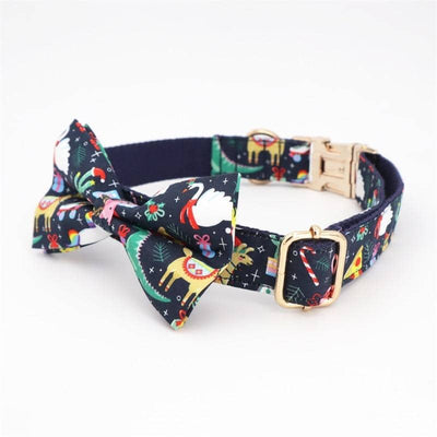 Cartoon Festive Bow-Tie Collar for dogs, dog clothes, dogs clothes, dog clothing, small dog clothes, dogs clothing, dog clothes female, dogs clothes boy, Dogs Clothes For Small To Medium Dog, Free Sunday, BowWow Shop - Top Dog Outfits Store