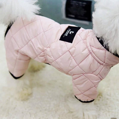 Chic Quilted Onesie for dogs, dog clothes, small dog clothes, dogs clothing, dog clothes female, dogs clothes boy, Dogs Clothes For Small To Medium Dog, WindR, BowWow Shop - Top Dog Clothing Store