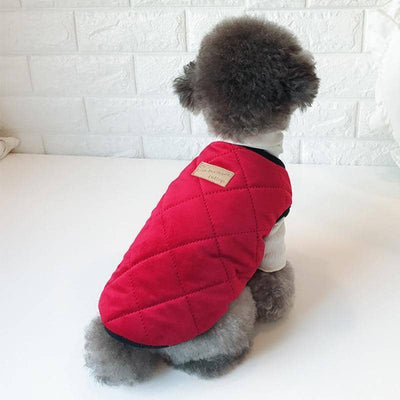 Chic Quilted Vest Jacket for dogs, dog clothes, small dog clothes, dogs clothing, dog clothes female, dogs clothes boy, Dogs Clothes For Small To Medium Dog, Best For Pet, BowWow Shop - Top Dog Clothing Store