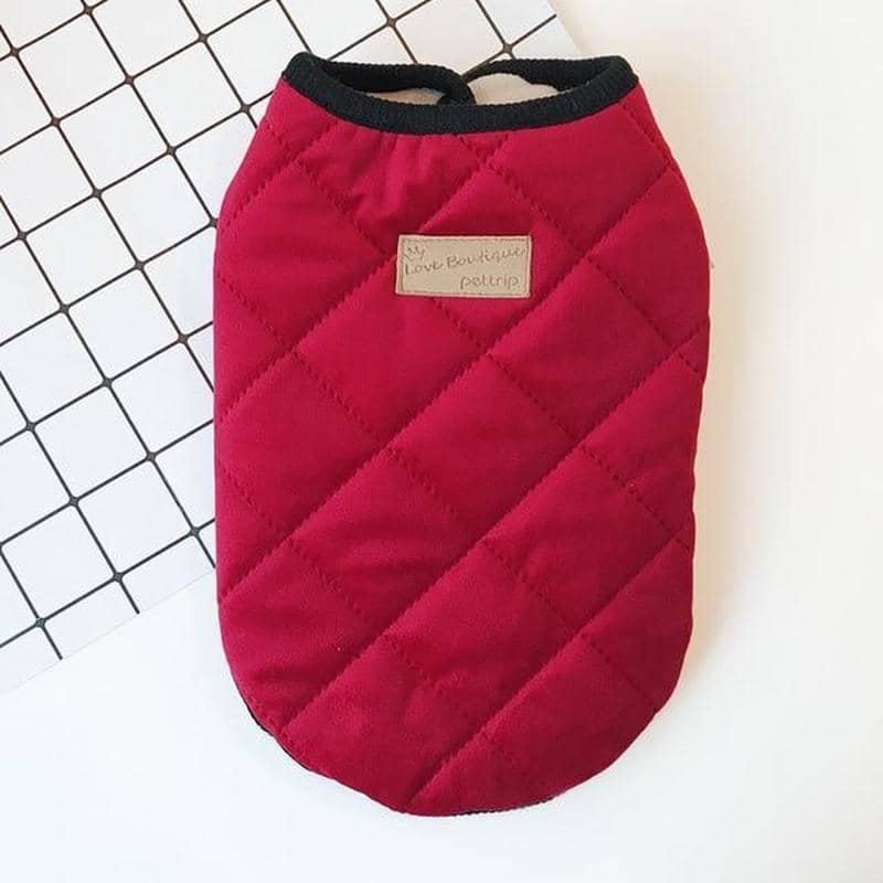 Chic Quilted Vest Jacket for dogs, dog clothes, dogs clothes, dog clothing, small dog clothes, dogs clothing, dog clothes female, dogs clothes boy, Dogs Clothes For Small To Medium Dog, Best For Pet, BowWow Shop - Top Dog Outfits Store