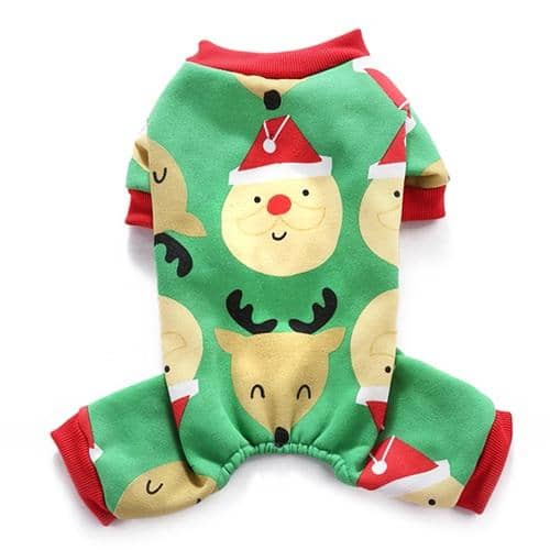 Christmas Onesie for dogs, dog clothes, dogs clothes, dog clothing, small dog clothes, dogs clothing, dog clothes female, dogs clothes boy, Dogs Clothes For Small To Medium Dog, iLovePet, BowWow Shop - Top Dog Outfits Store