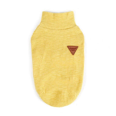 Classic Knit Turtleneck Sweater for dogs, dog clothes, small dog clothes, dogs clothing, dog clothes female, dogs clothes boy, Dogs Clothes For Small To Medium Dog, Liz's Wonderland, BowWow Shop - Top Dog Clothing Store
