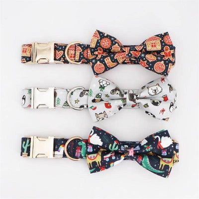 Cool Dude Festive Bow-Tie Collar for dogs, dog clothes, dogs clothes, dog clothing, small dog clothes, dogs clothing, dog clothes female, dogs clothes boy, Dogs Clothes For Small To Medium Dog, Free Sunday, BowWow Shop - Top Dog Outfits Store