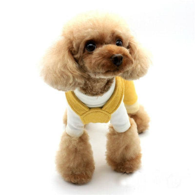 Cotton Rabbit Jumpsuit for dogs, dog clothes, small dog clothes, dogs clothing, dog clothes female, dogs clothes boy, Dogs Clothes For Small To Medium Dog, Liz's Wonderland, BowWow Shop - Top Dog Clothing Store