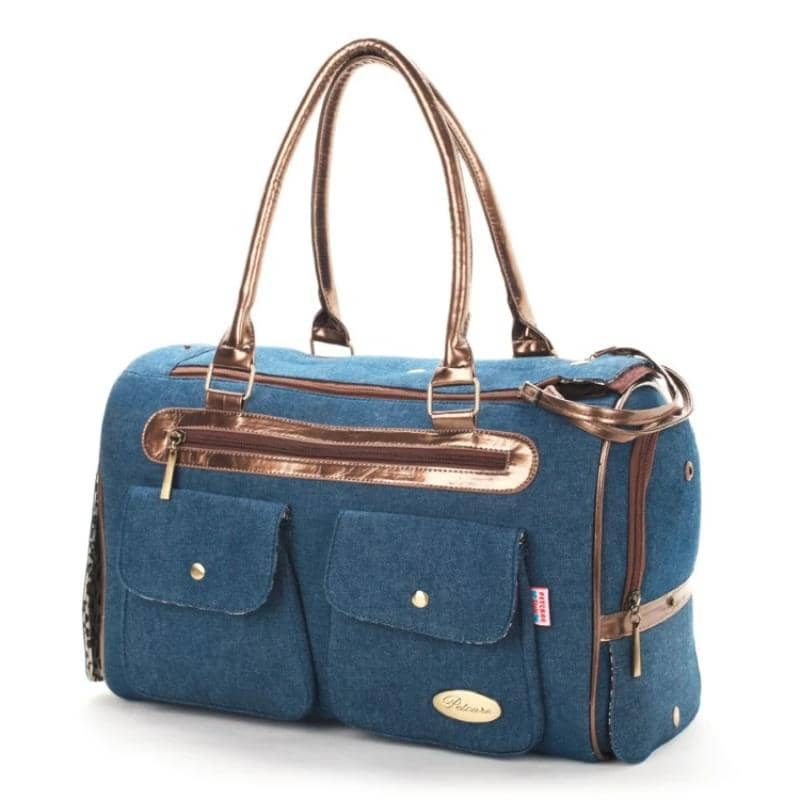 Dog Denim Chic Dog Tote | Small to Medium Dog Fashion Clothing | BowWow shop Online