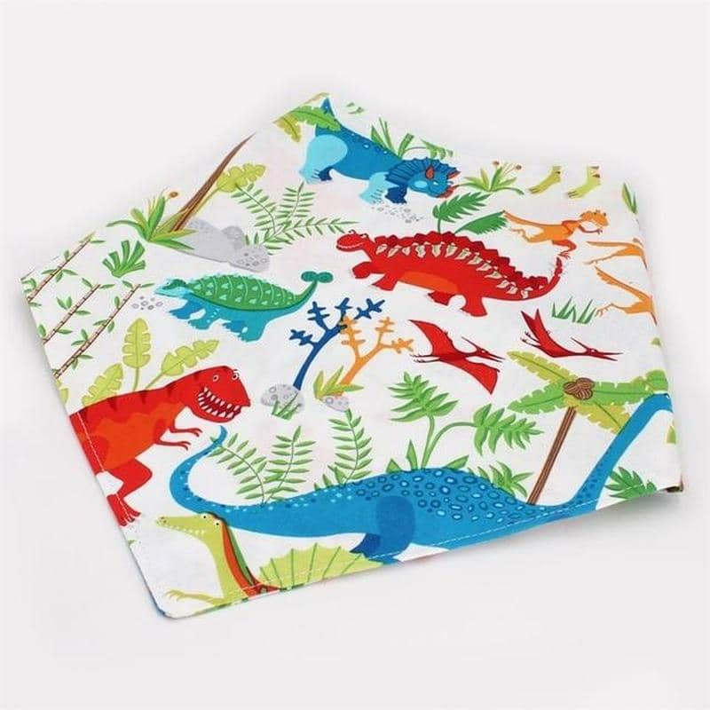 Dog Dino Bandana Set | Small to Medium Dog Fashion Clothing | BowWow shop Online