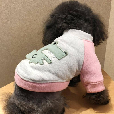 Dinosaur T-Shirt for dogs, dog clothes, dogs clothes, dog clothing, small dog clothes, dogs clothing, dog clothes female, dogs clothes boy, Dogs Clothes For Small To Medium Dog, PetMundo, BowWow Shop - Top Dog Outfits Store