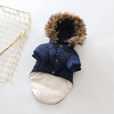 Faux Fur Hooded Coat for dogs, dog clothes, dogs clothes, dog clothing, small dog clothes, dogs clothing, dog clothes female, dogs clothes boy, Dogs Clothes For Small To Medium Dog, Liz's Wonderland, BowWow Shop - Top Dog Outfits Store