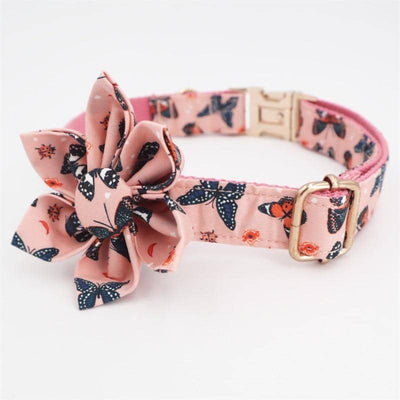 Flower Power Butterfly Collar Set for dogs, dog clothes, dogs clothes, dog clothing, small dog clothes, dogs clothing, dog clothes female, dogs clothes boy, Dogs Clothes For Small To Medium Dog, Free Sunday, BowWow Shop - Top Dog Outfits Store