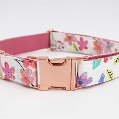 Flower Power Robin Collar Set for dogs, dog clothes, dogs clothes, dog clothing, small dog clothes, dogs clothing, dog clothes female, dogs clothes boy, Dogs Clothes For Small To Medium Dog, Free Sunday, BowWow Shop - Top Dog Outfits Store