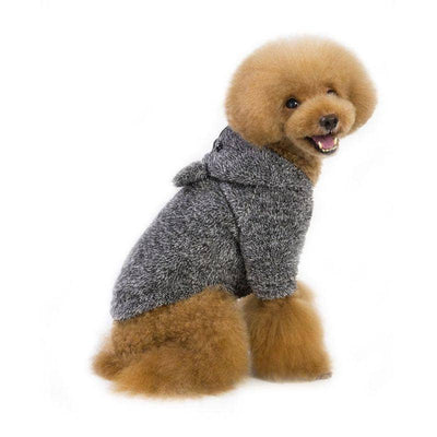 Fluffy Koala Hoodie for dogs, dog clothes, small dog clothes, dogs clothing, dog clothes female, dogs clothes boy, Dogs Clothes For Small To Medium Dog, H-World, BowWow Shop - Top Dog Clothing Store