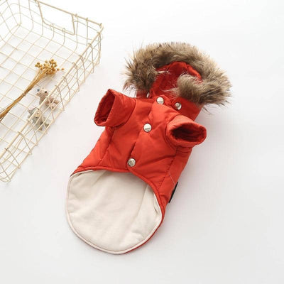 Fur Parka Jacket for dogs, dog clothes, small dog clothes, dogs clothing, dog clothes female, dogs clothes boy, Dogs Clothes For Small To Medium Dog, PetMundo, BowWow Shop - Top Dog Clothing Store