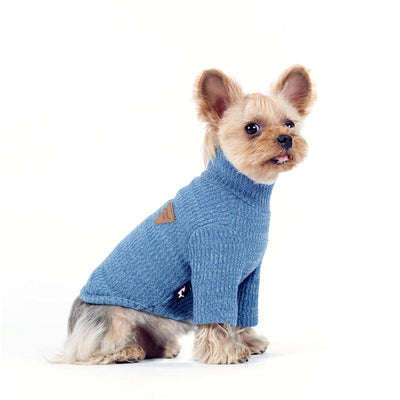Knit Classic Turtleneck Sweater for dogs, dog clothes, dogs clothes, dog clothing, small dog clothes, dogs clothing, dog clothes female, dogs clothes boy, Dogs Clothes For Small To Medium Dog, Liz's Wonderland, BowWow Shop - Top Dog Outfits Store