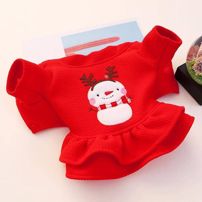 Lady In Red Xmas Dress for dogs, dog clothes, dogs clothes, dog clothing, small dog clothes, dogs clothing, dog clothes female, dogs clothes boy, Dogs Clothes For Small To Medium Dog, Petcircle, BowWow Shop - Top Dog Outfits Store