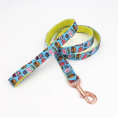 Lunch Bow-Tie Collar & Leash Set for dogs, dog clothes, dogs clothes, dog clothing, small dog clothes, dogs clothing, dog clothes female, dogs clothes boy, Dogs Clothes For Small To Medium Dog, Free Sunday, BowWow Shop - Top Dog Outfits Store