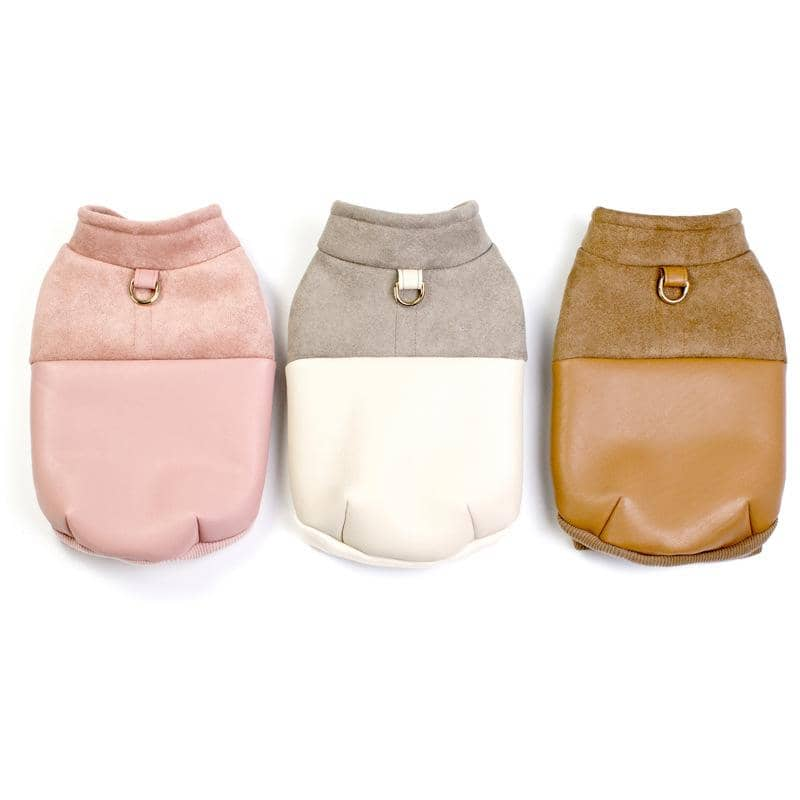 Luxe D-Ring Jacket for dogs, dog clothes, dogs clothes, dog clothing, small dog clothes, dogs clothing, dog clothes female, dogs clothes boy, Dogs Clothes For Small To Medium Dog, BigEye, BowWow Shop - Top Dog Outfits Store