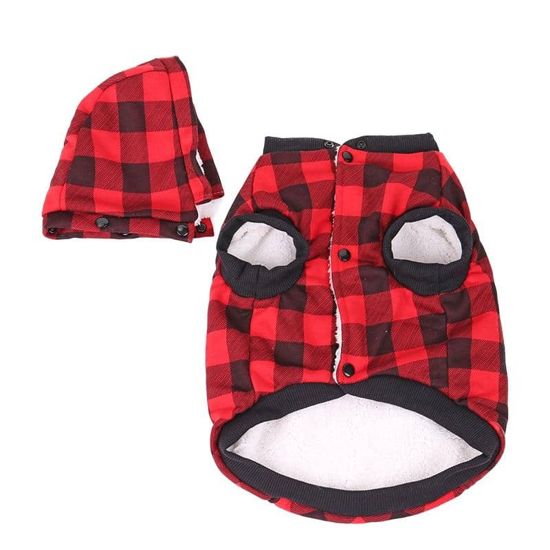 Maxi Thick Lumber Jacket for dogs, dog clothes, dogs clothes, dog clothing, small dog clothes, dogs clothing, dog clothes female, dogs clothes boy, Dogs Clothes For Small To Medium Dog, PlayPetty, BowWow Shop - Top Dog Outfits Store
